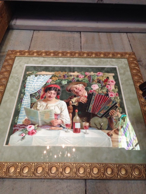 Antique Die Cut Art