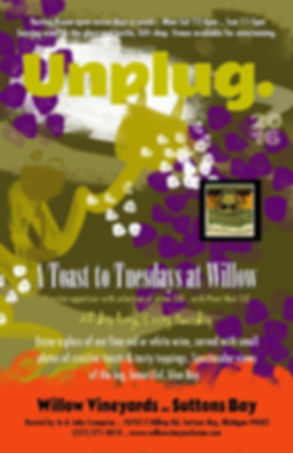 Toast to Tuesday at Willow Vineyards