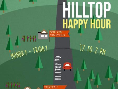 Hilltop Happy Hour