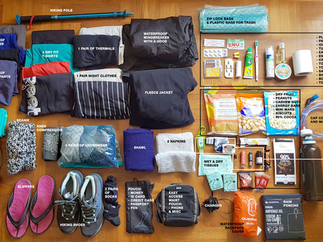 5 THINGS I LEARNED FROM HIKING UP MT KINABALU + downloadable packing list: