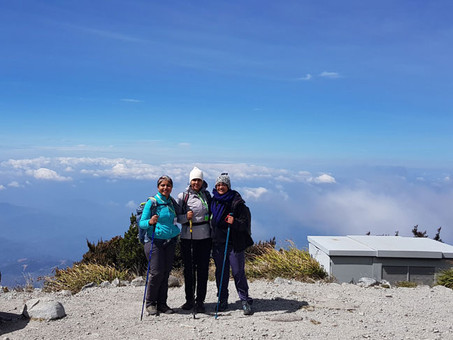 MOUNT KINABALU CLIMB  - Flights, travel to HQ and information about Mt Kinabalu climb