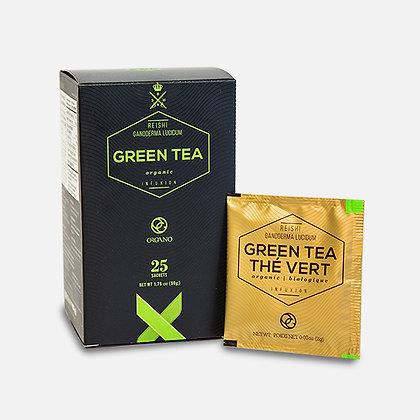 Organo™ Organic Green Tea with Organic Ganoderma lucidum