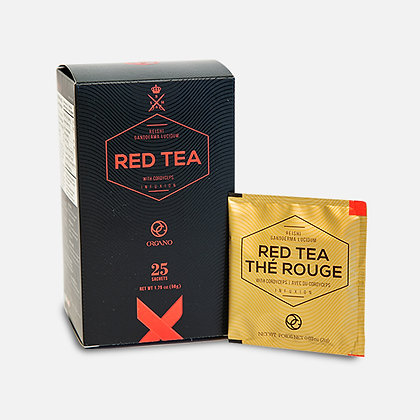 Organo™ Red Tea with Cordyceps and Ganoderma lucidum