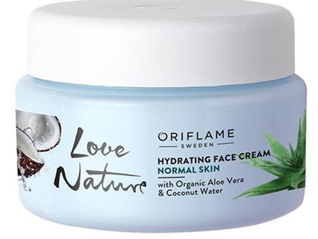 Awesome look with organic Aloe Vera
