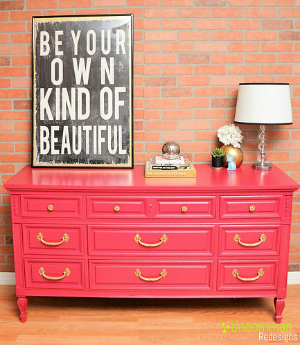 Pink French Style Dresser