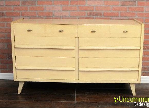 Pick your color! - Blonde Mid Century Modern Permanized Mengel  Dresser