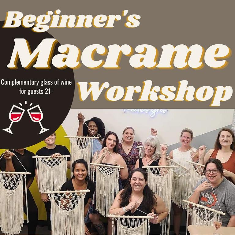 Beginner's Macramé Workshop