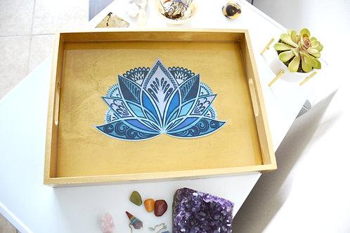 Lotus Flower Self Care Tray