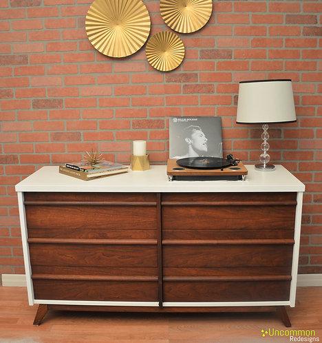 Two-toned Mid Century Dresser