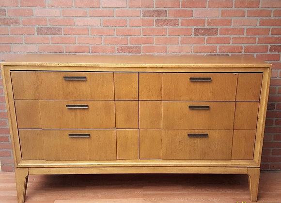 Large Six Drawer  Dresser Mid Century