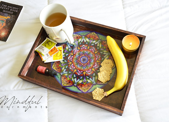 Mandala Self Care Tray