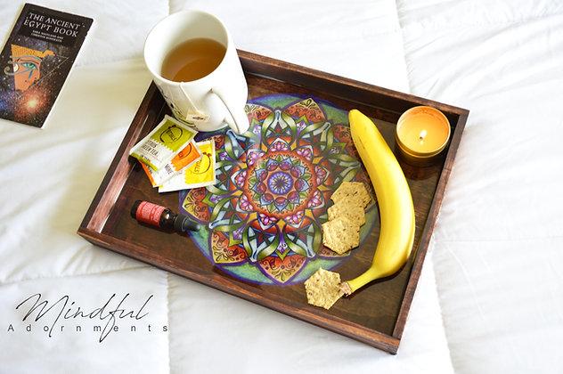 Mandala Self Care Tray