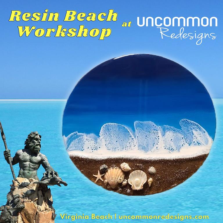 Resin Beach Art Workshop