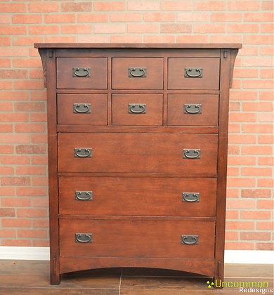 Pick your color - Mission Style Chest of Drawers