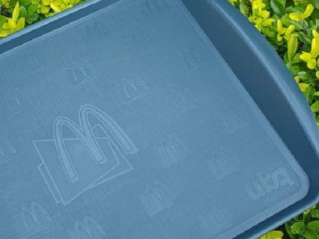 McDonald's investe em bandejas mais sustentáveis em seus restaurantes