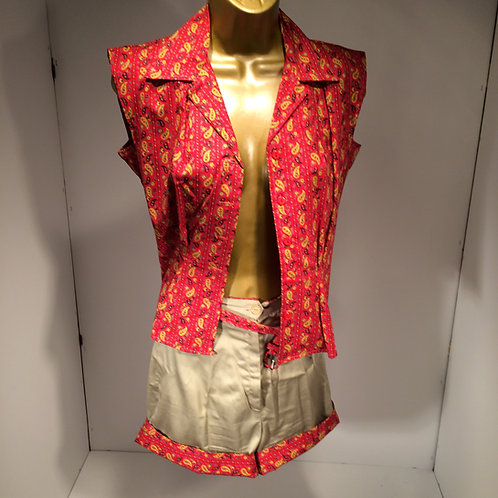 50s shell and short