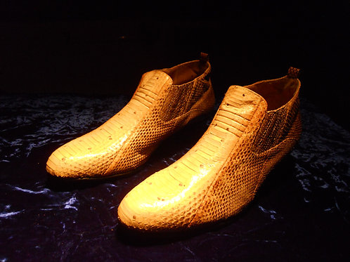 Real snake skin shoes