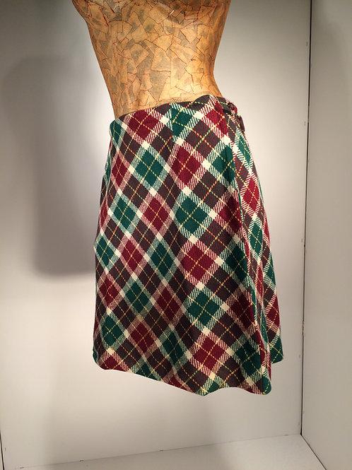70s wool skirt