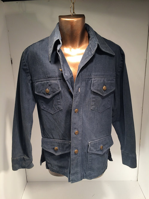 1960's brush denim