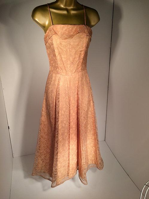 50s lace dress
