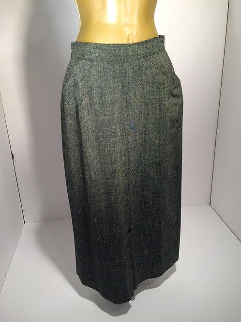 40's woven skirt