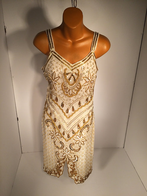 evening beaded dress