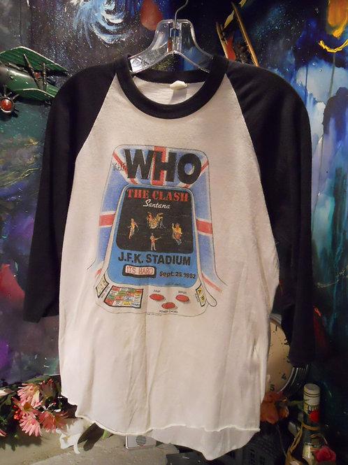 1982 Who /  Clash / Santana