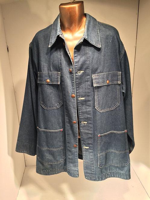 1970's denim yard jacket