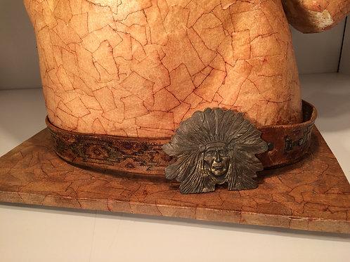 Indian head dress belt