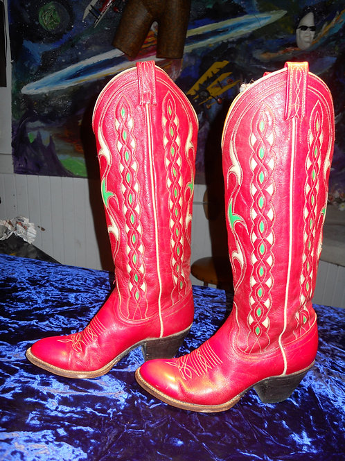 1950's cowgirl boots