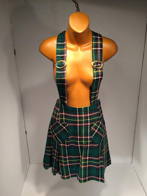 1960's plaid skirt