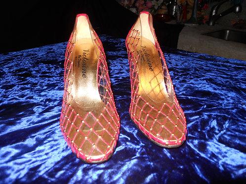 1950's lucite shoes