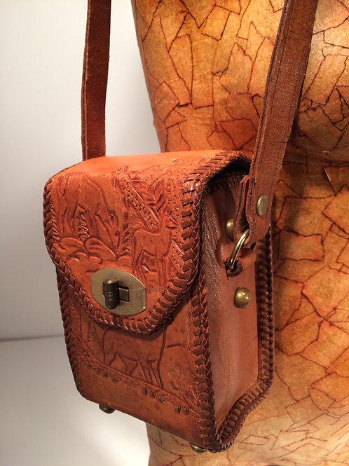 Small box stamped purse