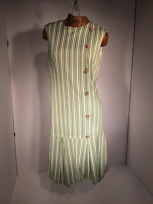 vertical stripe dress