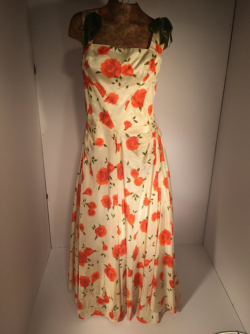 50s gown