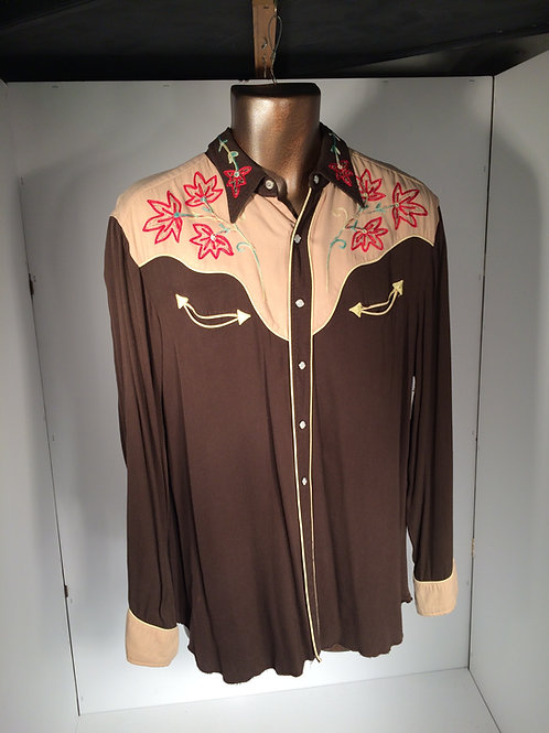 50's western shirt