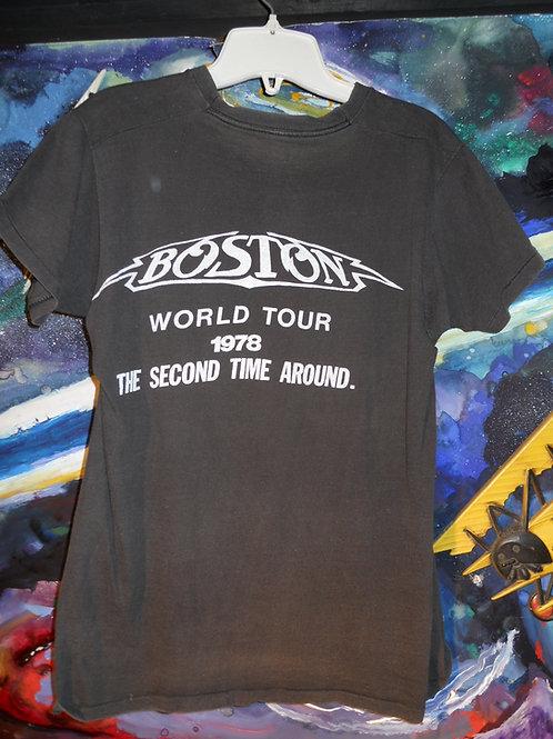 1978 Boston tour t shirt