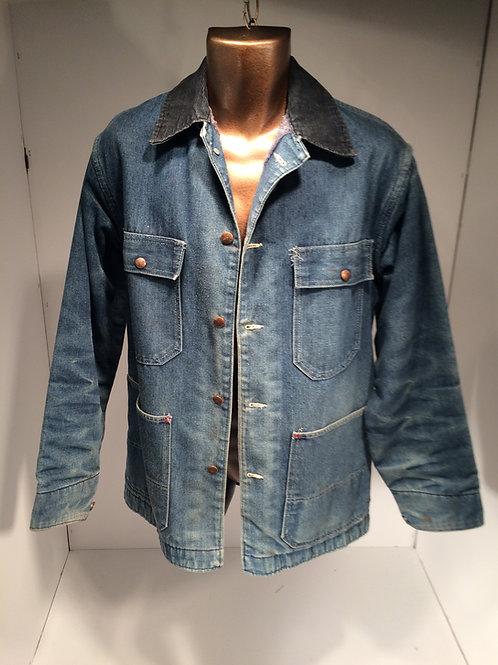 1970's denim railroad yard jacket