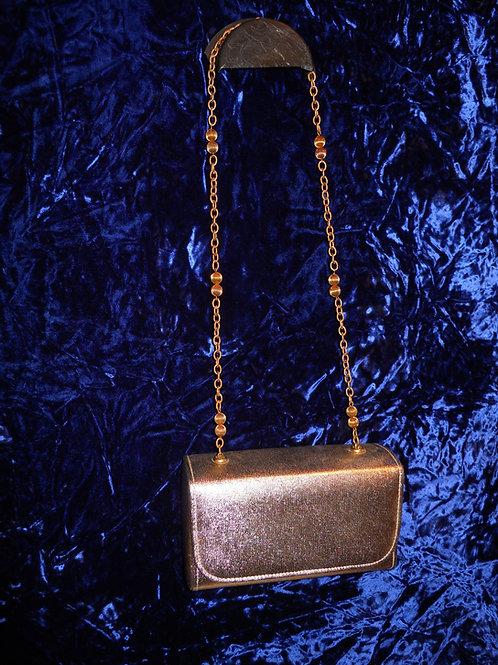 1950's gold box purse