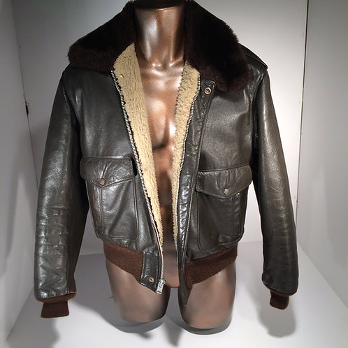 70s leather jacket