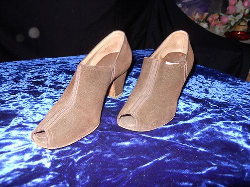 1940's open toe shoes