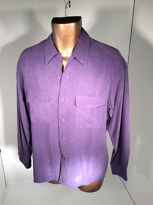 garment dyed silk