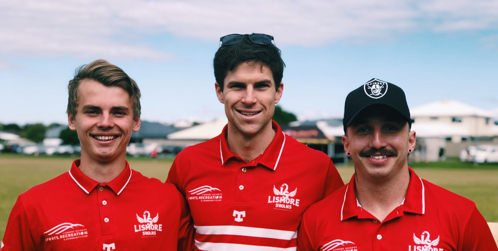 Max Smith, Shaun King & Josh Mcguinness