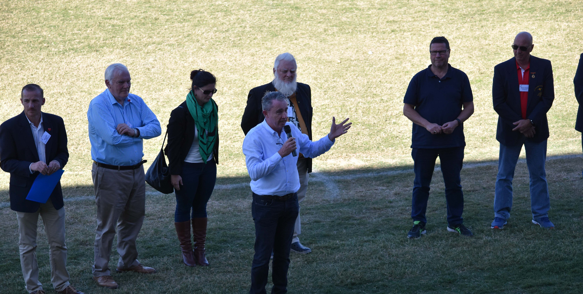 Kevin Hogan Opening Oakes Oval