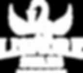 WHITE Lismore swans logo_transparent cop