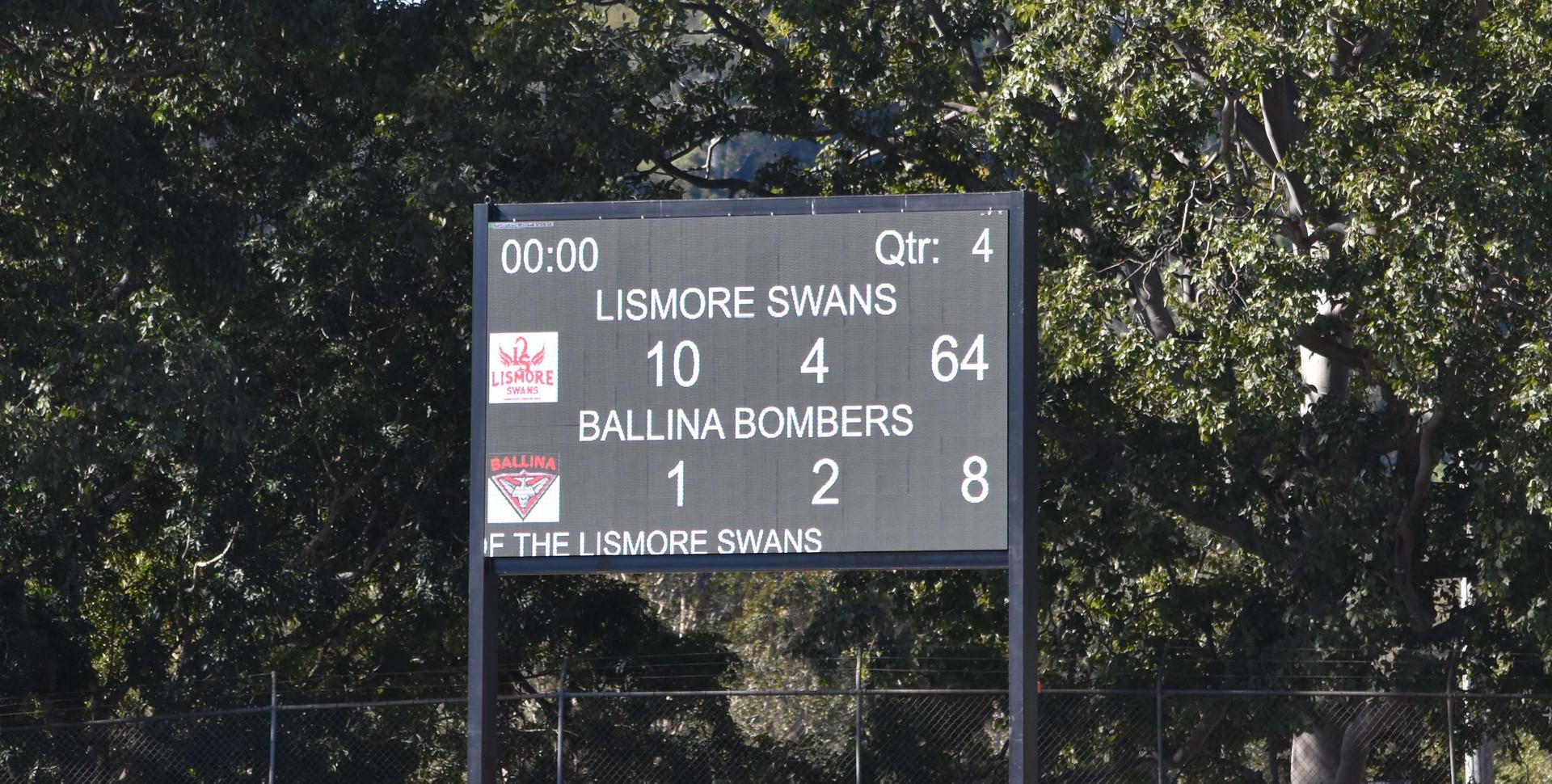 Our Electronic Scoreboard