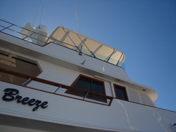 Flybridge cover