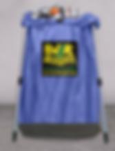 KBI BLUE Mesh Bag with Leak Proof Bottom