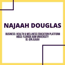 Najaah Douglas - Wellness Platform