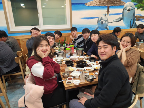 2019.11.08 석사졸업예비발표 및 랩회식